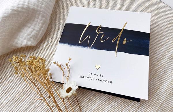 Zo maak je trouwkaarten die perfect bij jullie passen